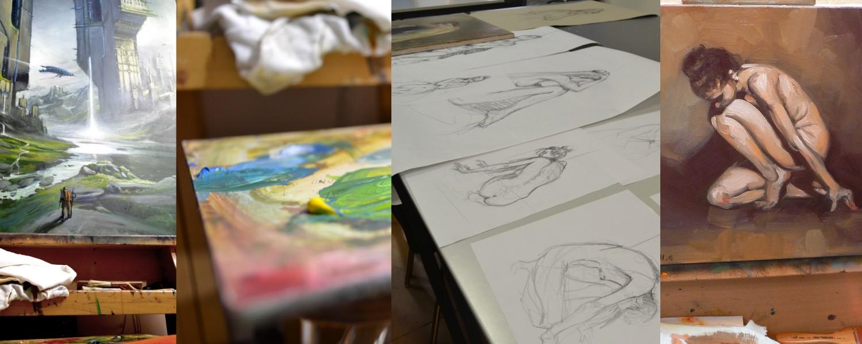 Atelier Formation Dessin et Peinture traditionnelle