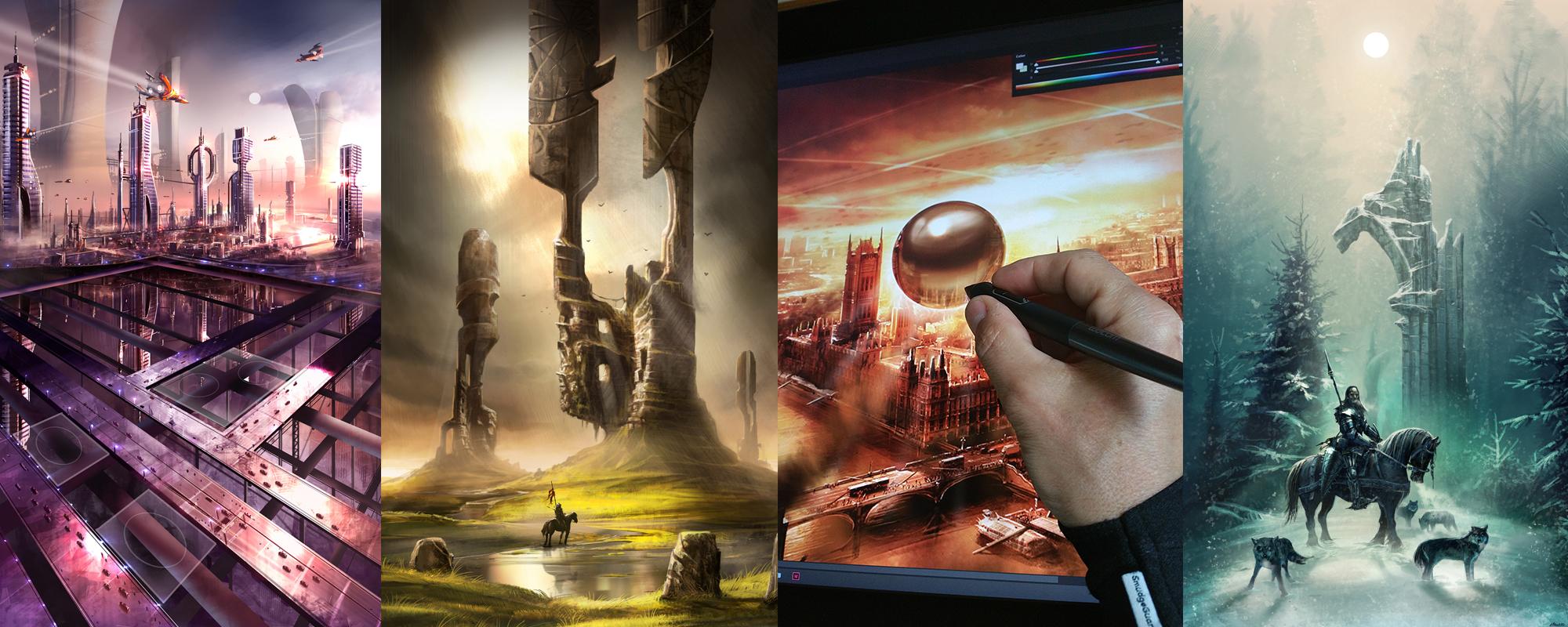 Formation en Peinture Digitale avec Photoshop et Painter