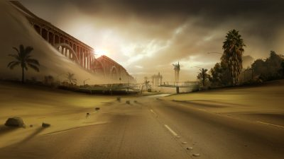 The Road Matte