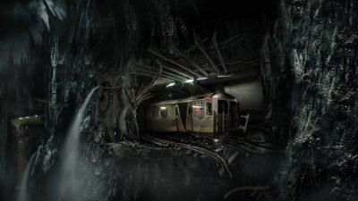 Subway cliff