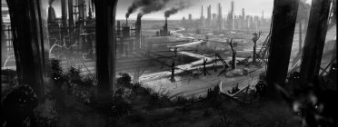Concept Art Werewolf apocalypse